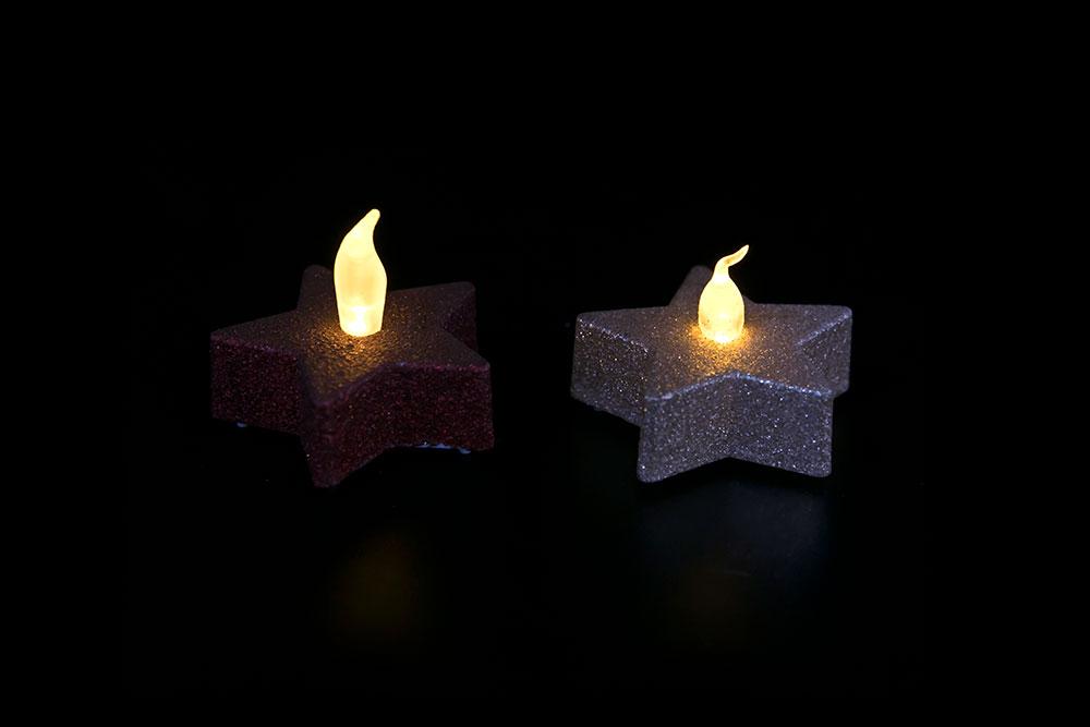 LED Matte Plating Candle Light HHT-177