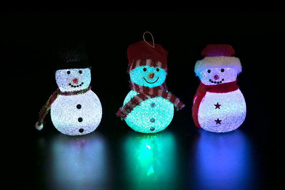 Magic EVA Snowman Light A HHE-011