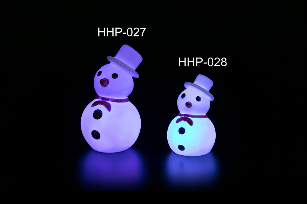 Magic Snowman Light A B HHP-027 HHP-028